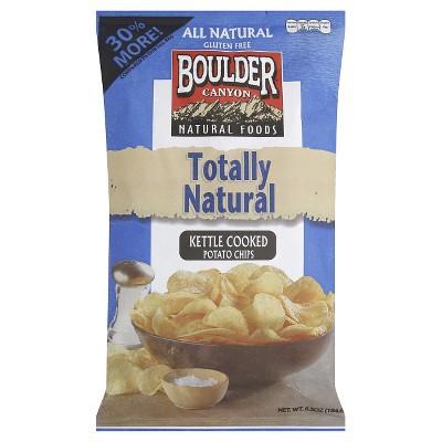 Boulder Kettle Cooked Potato Chips - 6.5 0z (Pack of 12)