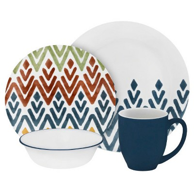 Corelle® Vive™ 16pc Dinnerware Set Zamba