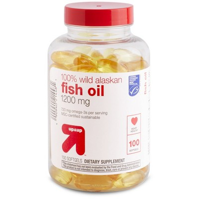 Vitamins & Supplements: up & up Wild Alaskan Fish Oil