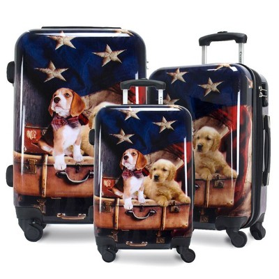 Chariot Travelware CHD-70 Freedom Pups 3pc Luggage Set