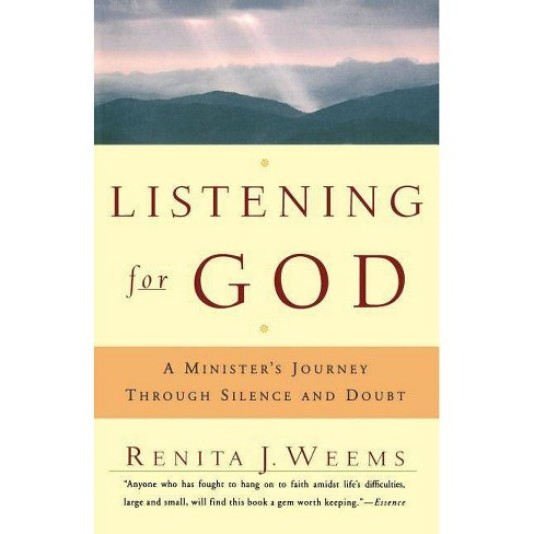 Listening for God - by  Renita J Weems (Paperback) - image 1 of 1