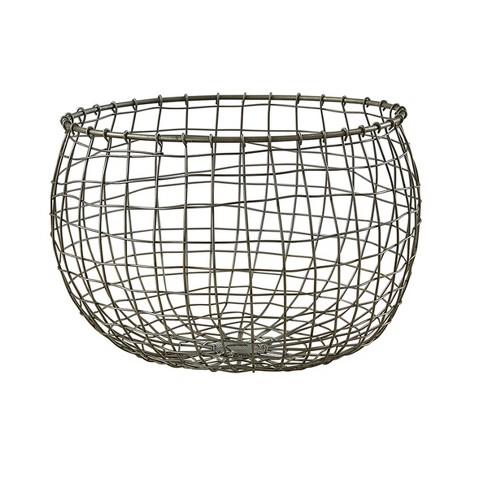 Split P Round Wire Basket - Gray - image 1 of 3