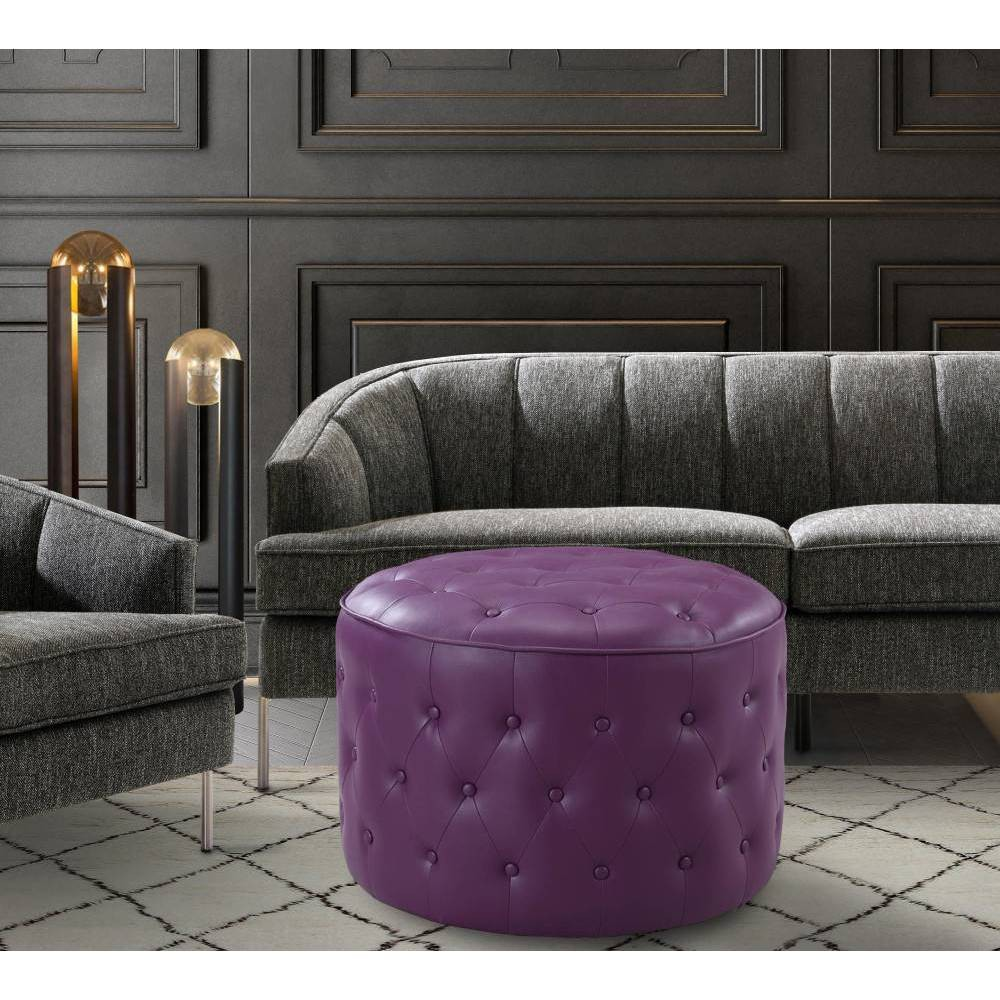 Tosh Ottoman Purple - Chic Home Design was $269.99 now $188.99 (30.0% off)