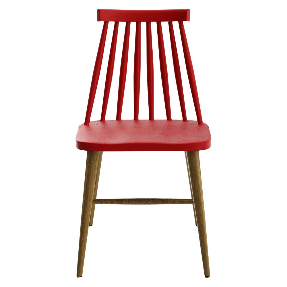 Set Of 2 Peterson Dining Chair Red Aeon