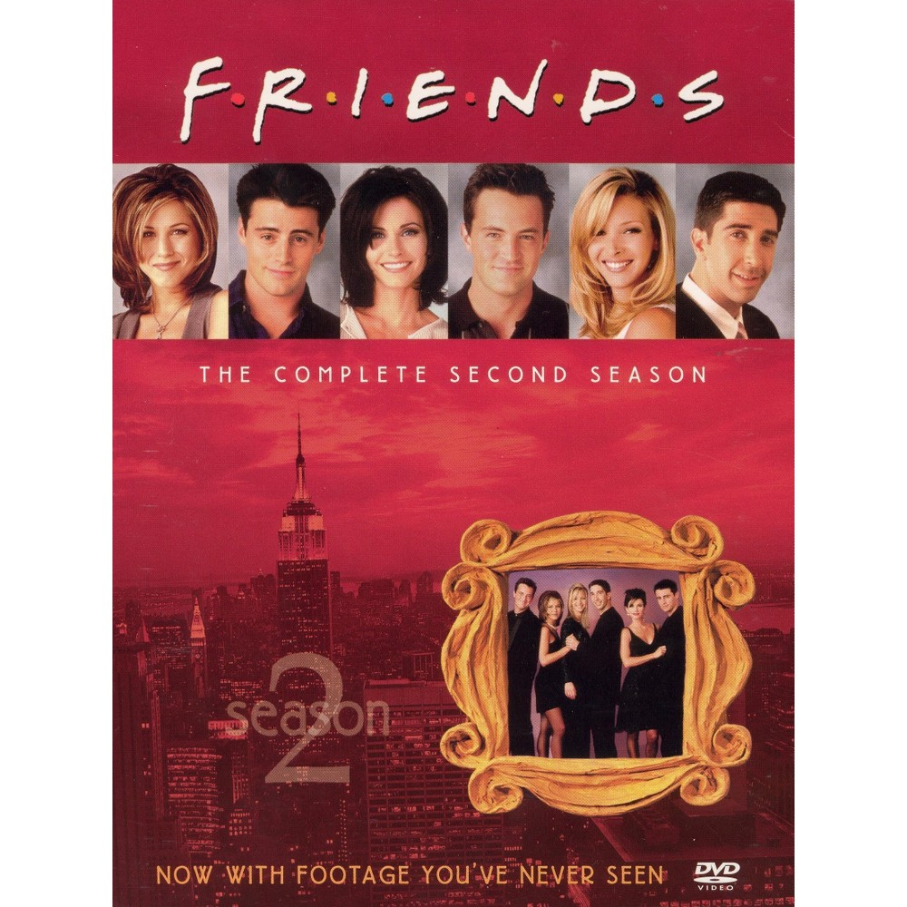 Friends: The Complete Second Season (4 Discs) (R) (Fullscreen), Multi-Colored