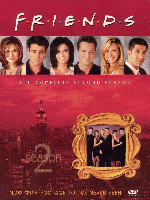 Friends: The Complete Second Season (4 Discs) (R) (Fullscreen) - image 1 of 1