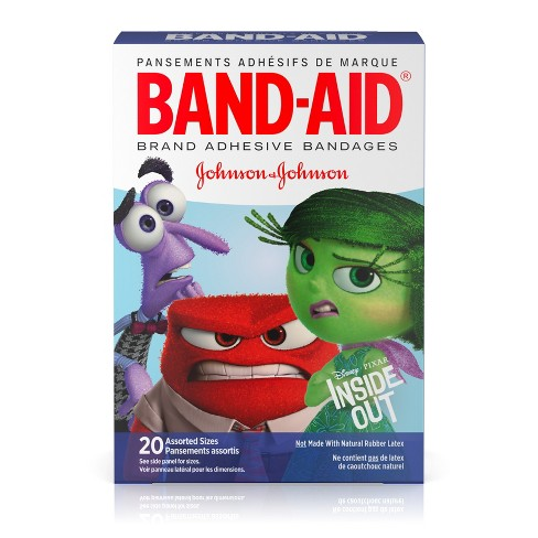 BAND-AID Pixar's Inside Out Adhesive Bandages - 20ct - image 1 of 8