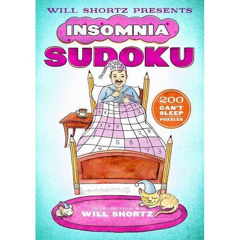 Will Shortz Presents Insomnia Sudoku - (Paperback) - image 1 of 1