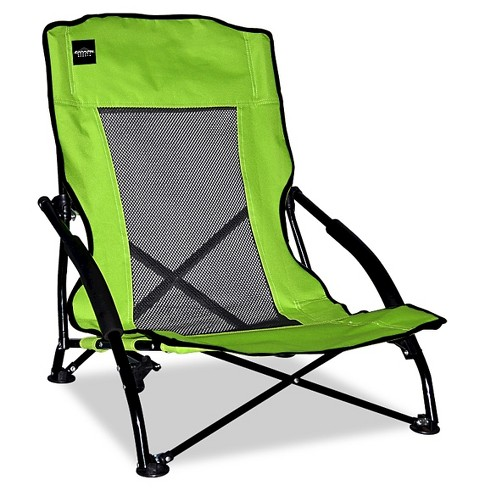 Caravan Global Compact Folding Chair 1 Piece - Mesh - Lime Green - image 1 of 1
