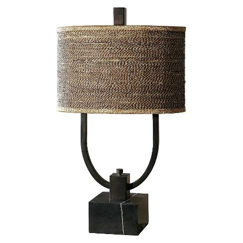 Uttermost Stabina Metal Table Lamp Bronze Target