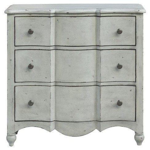 Stefan Distressed Drawer Chest - White - Pulaski - image 1 of 4