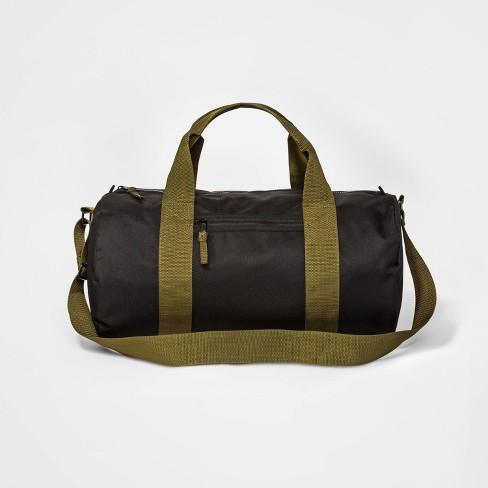 Boys' Duffel Messenger Bag - art class™ Black - image 1 of 1