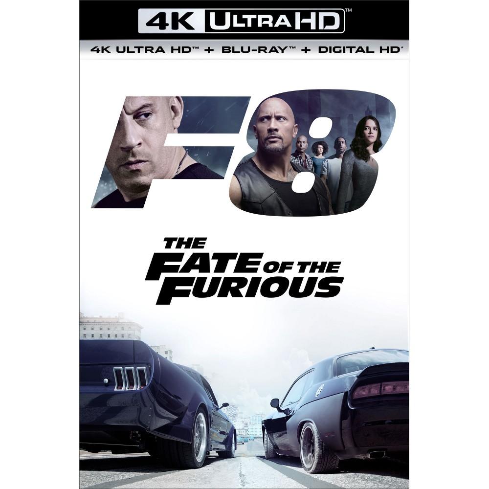The Fate of the Furious (4K/Uhd + Blu-ray + Digital HD)