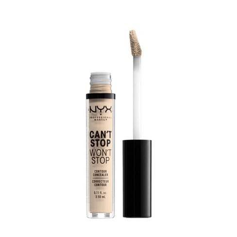 NYX Professional Makeup Can't Stop  Won't Stop Contour Concealer - 0.11 fl oz - image 1 of 4
