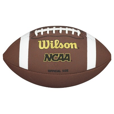 Wilson NCAA Composite Official Football - Brown