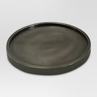 Candle Holder Metal Gray - Threshold™