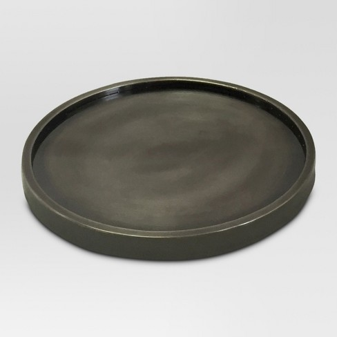Candle Holder Metal Gray - Threshold™ - image 1 of 1