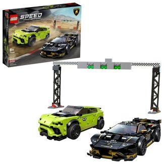 LEGO Speed Champions Lamborghini Urus ST-X and Huracán Super Trofeo EVO 76899