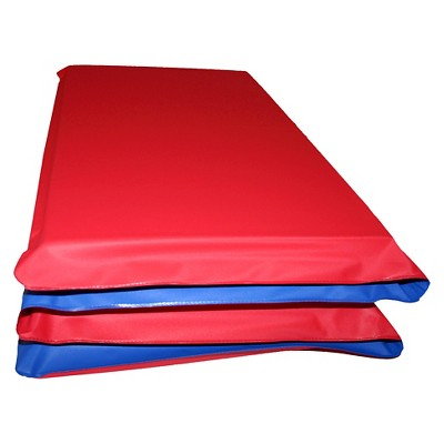 KinderMat Kids' Rest Mat - Red/Blue