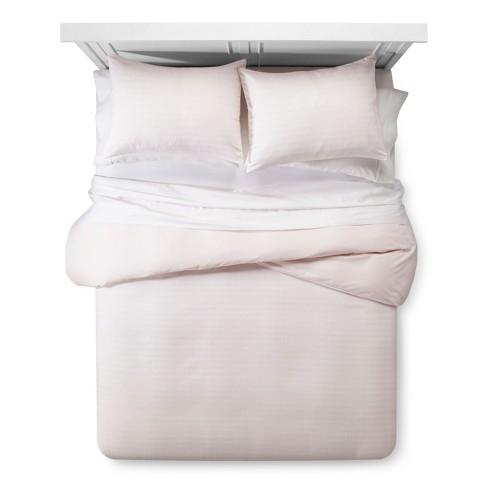 Pink Line Burst Duvet Cover Set (Full/Queen) 3pc - Room Essentials™ - image 1 of 3