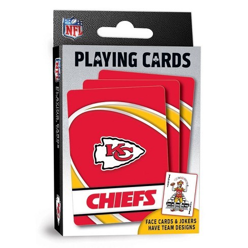 NFL Kansas City Chiefs Playing Cards - image 1 of 4