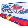 Airhead Patriot 3-Person Towable Kwik Connect Chariot Style Reversible Tube with Tow Points and Quick Rope Connections - image 3 of 4