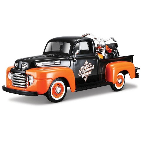Harley-Davidson 58 FLH Duo Glide & '48 Ford F-1 Diescast Vehicle - image 1 of 1