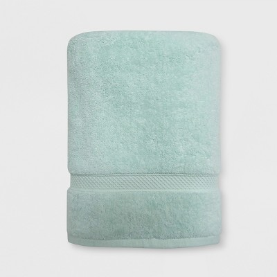 Perfectly Soft Solid Bath Towel Vapor Green - Opalhouse™