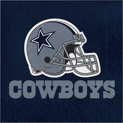 48ct Dallas Cowboys Football Napkins