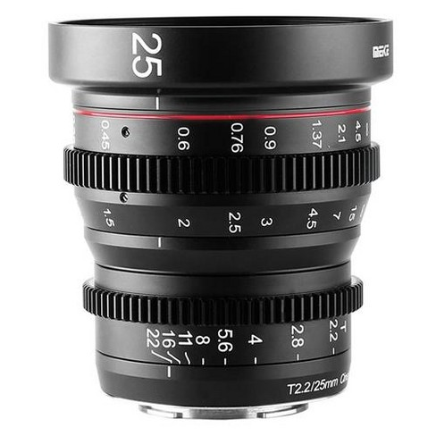 Meike 25mm T2.2 Manual Focus Cinema Lens for Sony E-Mount - image 1 of 4