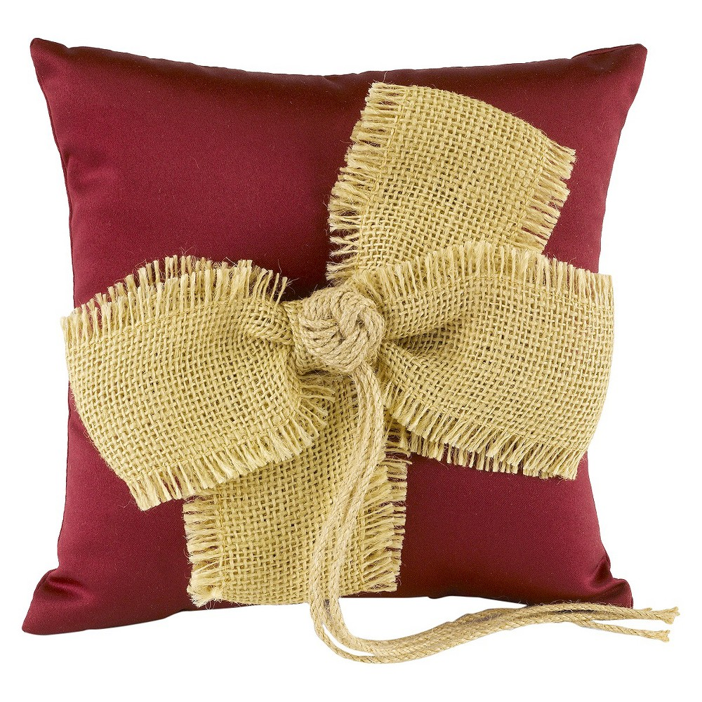 Country Love Ring Pillow, Ceremonial Ring Holder