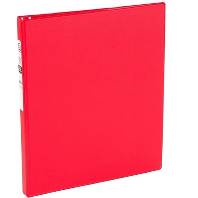 """Avery Economy 1/2"""" 3-Ring Non-View Binder Red (03210) 296004"""