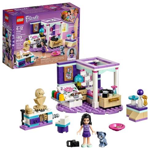 Lego Friends Emmas Deluxe Bedroom 41342 Target