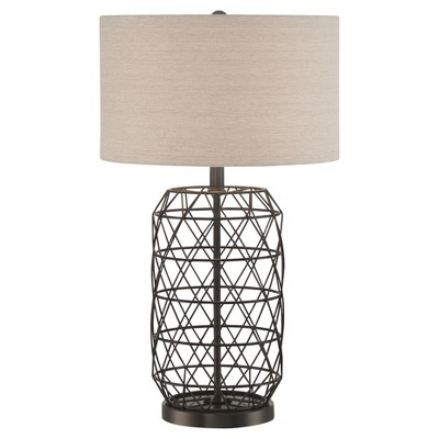 Cassiopeia Table Lamp Black (Lamp Only)- Lite Source