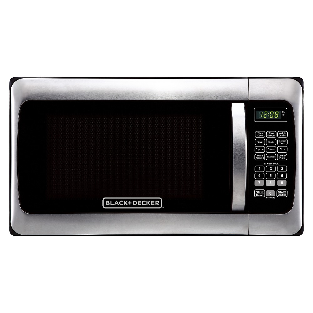 Black+decker 1.1 Cu. Ft. 1000 Watt Microwave Oven, Silver 51006159