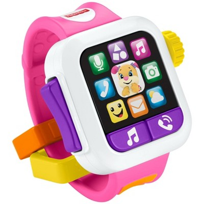Fisher-Price Laugh 'N Learn Pink Smartwatch