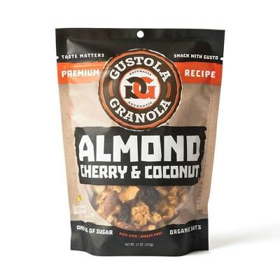 Gustola Granola Almond Cherry Coconut Granola - 11oz