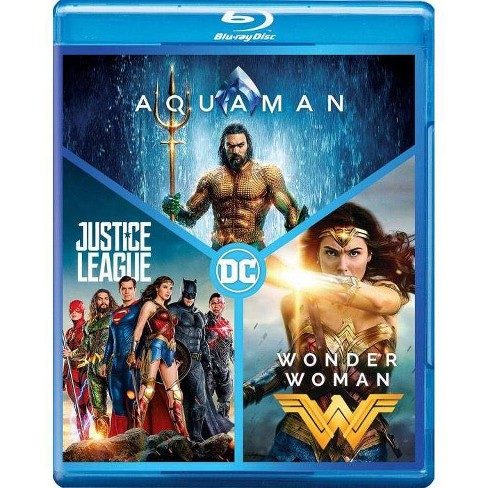 DC 3-Film Collection: Aquaman / Justice League / Wonder Woman (Blu-ray) - image 1 of 1