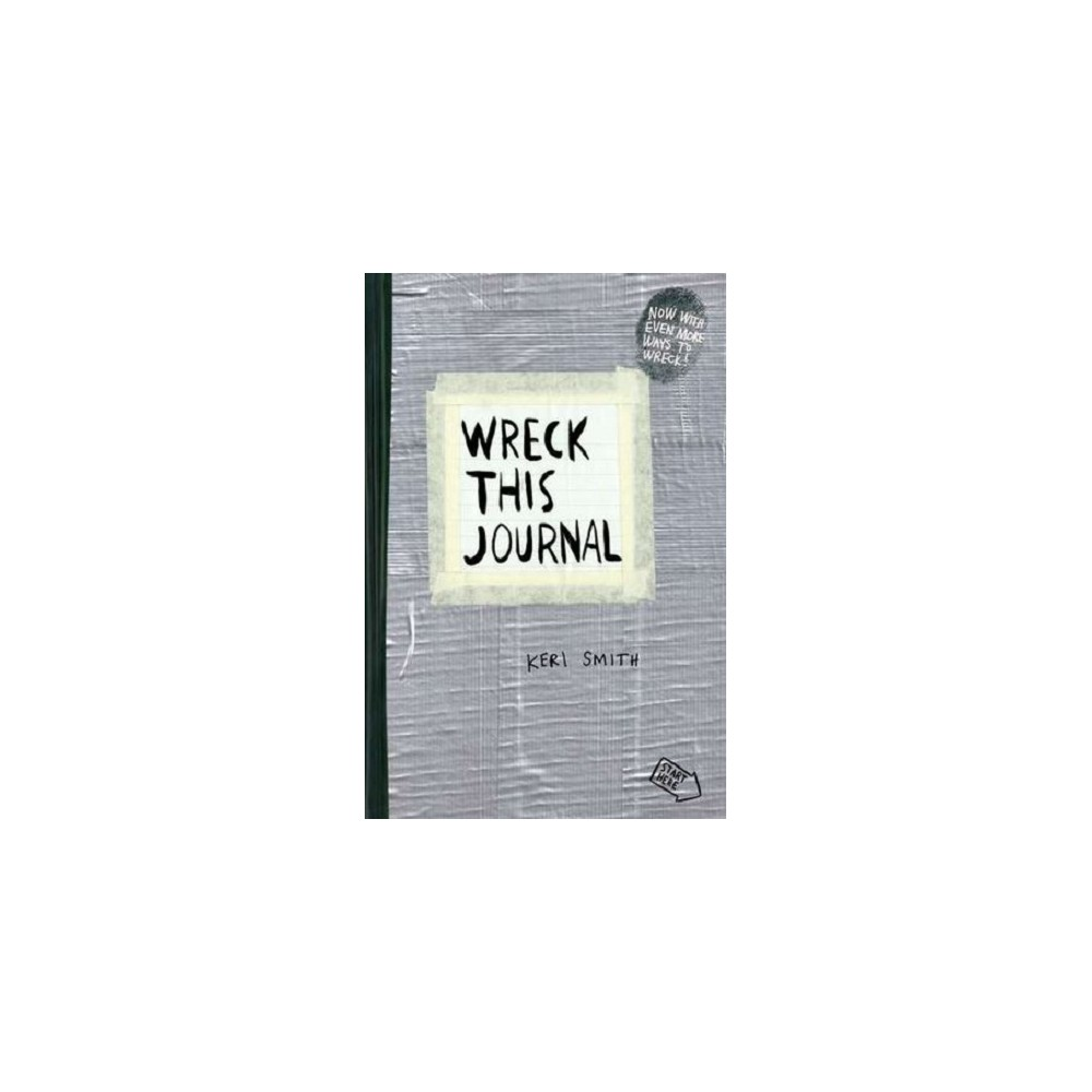 Wreck This Journal, Duct Tape (Expanded Ed.) (Paperback) by Keri Smith