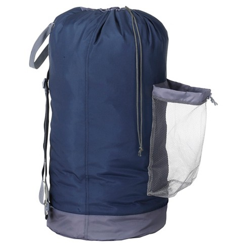 Backpack Laundry Bag - Navy - Room Essentials™ - image 1 of 2