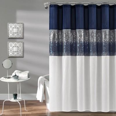 Night Sky Shower Curtain - Lush Décor