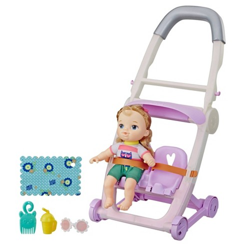 Littles By Baby Alive Push N Kick Stroller Little Ana Target