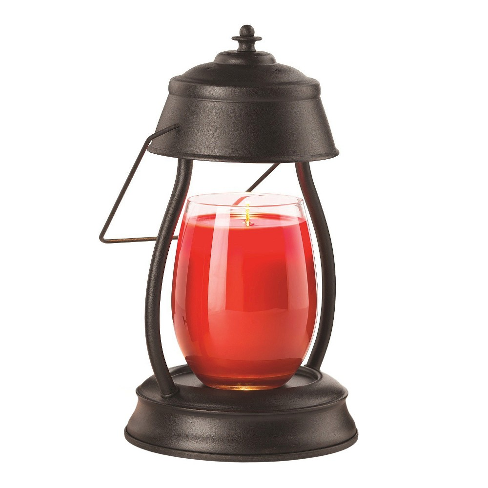 Image of Hurricane Candle Warmer Lantern Black - Candle Warmers Etc.