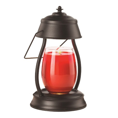 Hurricane Candle Warmer Lantern Black - Candle Warmers Etc.® - image 1 of 2