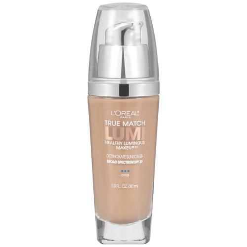 L'Oreal Paris True Match Lumi Makeup C3 Creamy Natural 1 fl oz, Creamy Natural C3