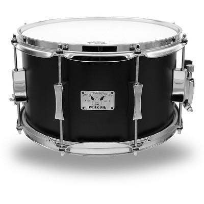 Pork Pie Little Squealer Flat Black Snare Drum 12 x 7 in.