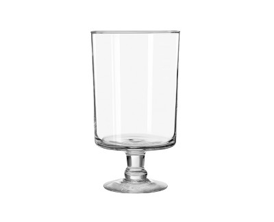 Glass Harbor Vase Clear 11  - Libbey