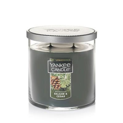 12.5oz Lidded Glass Jar 2-Wick Balsam Cedar Candle - Yankee Candle