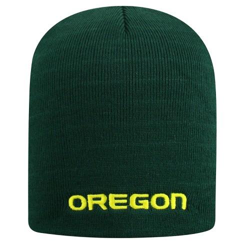 NCAA Oregon Ducks Pom Knit Hat   Target 9ef8b5139fc