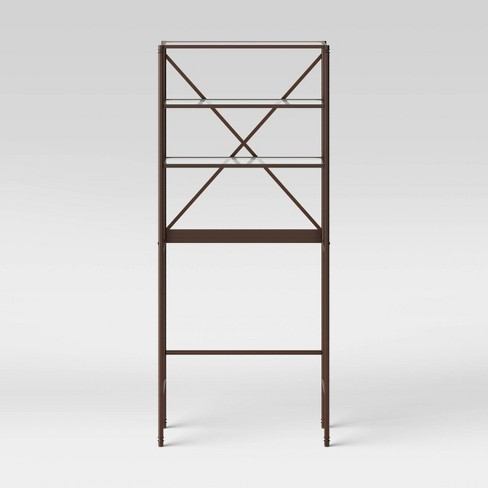 Metal Gl Etagere Oil Rubbed Bronze